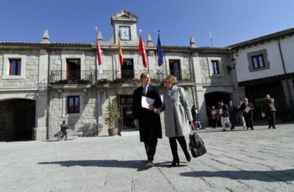Plaza del ayuntamiento en Guadarrama